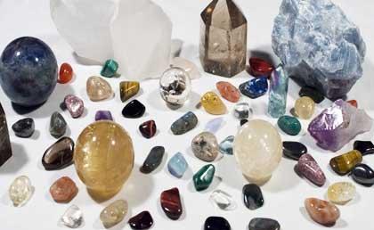 Limpiar, energizar y programar cristales, piedras y cuarzos