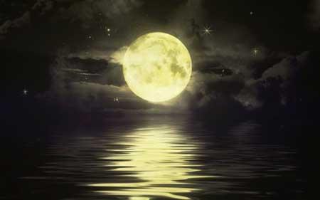 Rituales con la luna mágica. Magia con la luna.