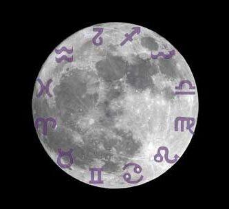 luna en los signos
