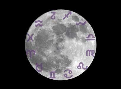 La luna y los signos. Esto pasa cuando la luna está en tu signo.