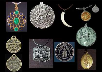 El poder de los metales y talismanes (amuletos)