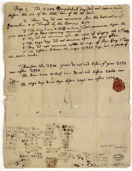 Carta de Newton