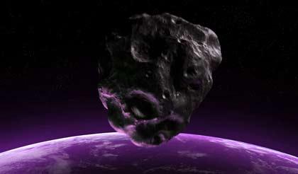 Asteroide rozará la tierra. Faetón