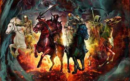 Antes del apocalipsis. Profecías bíblicas y los cuatro jinetes
