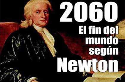 Isaac Newton predijo el fin del mundo que sería pronto