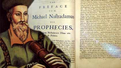 Profecías de Nostradamus