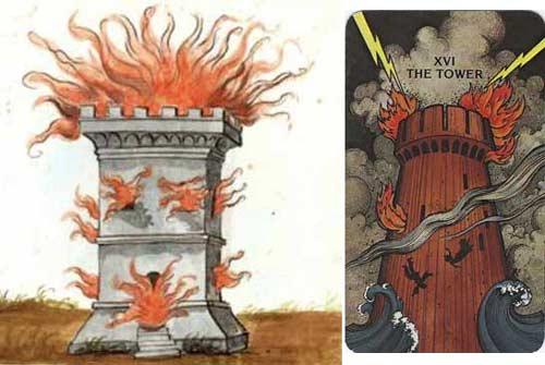 Vaticinio Summis Pontificibus Nostradamus torre