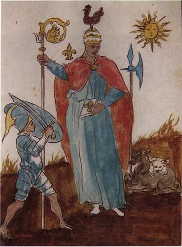 libro perdido vaticinios Nostradamus