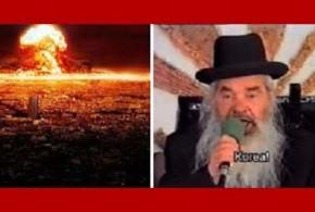 Rabino predijo guerra de Norcorea desde los 90