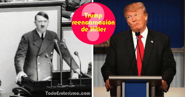 Trump reencarnación de Hitler