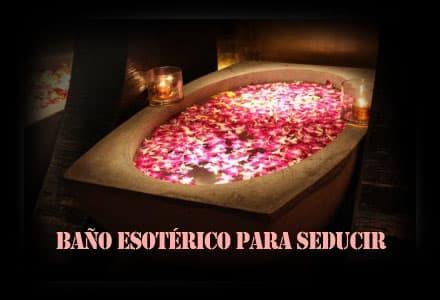 Baño esotérico para seducir
