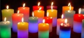 El color de las velas (velas colores)