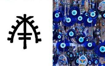 símbolos contra mal de ojo