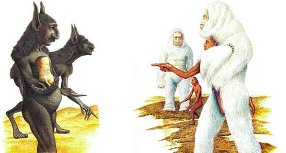Libro predice todas las razas humanas que podrían existir