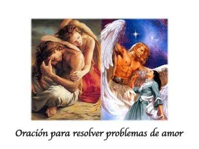 Oración para resolver problemas de amor (ángeles de la guarda)