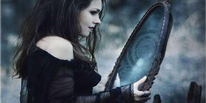 Hechizo para ver el futuro con el espejo mágico