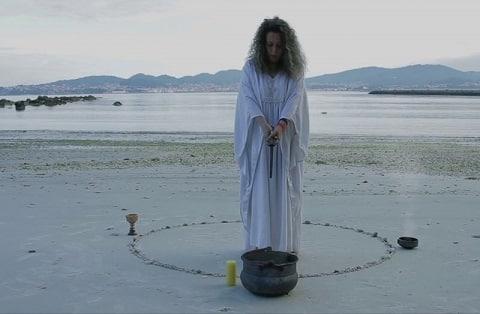 El círculo mágico, puntos cardinales y elementos.