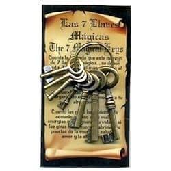siete llaves mágicas