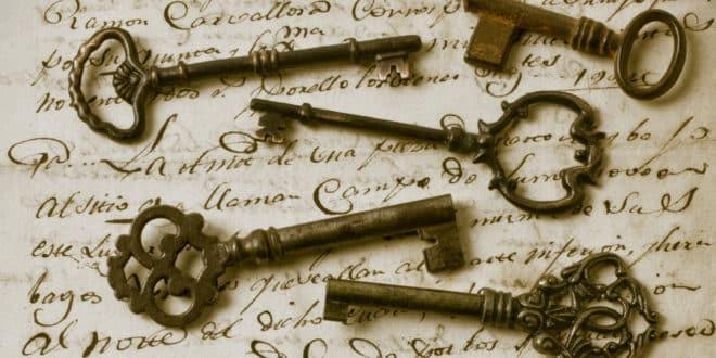 Llaves mágicas como amuletos. Tu llave mágica abre caminos y atrae dinero