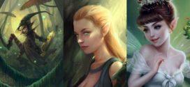 Duendes, elfos y hadas