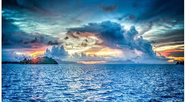 Significado de soñar con el mar azul