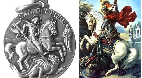 Significado y usos de la medalla de San Jorge