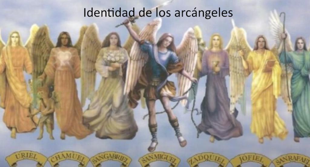 Identidad de los arcángeles