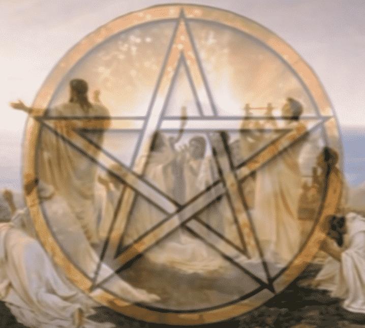 El pentagrama en la religión