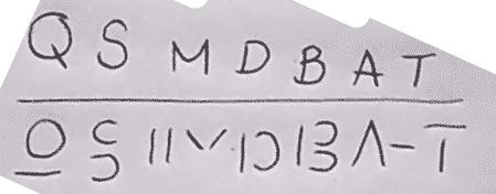 letras como símbolos