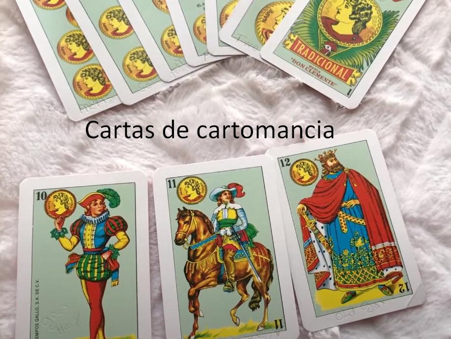 Cartas de cartomancia