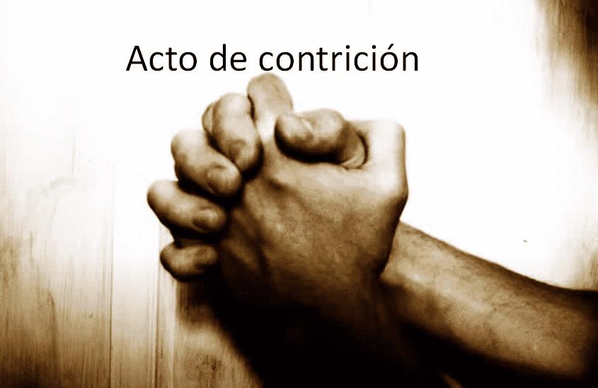 acto de contrición