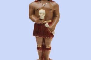 estatua de Exu Pimenta