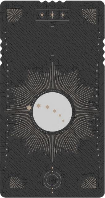 reverso carta de tarot