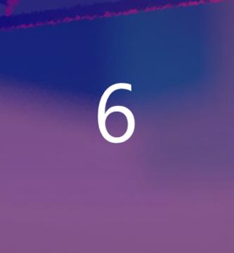 Número 6 en numerología