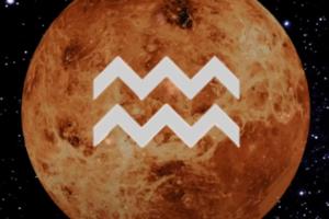 Venus en Acuario