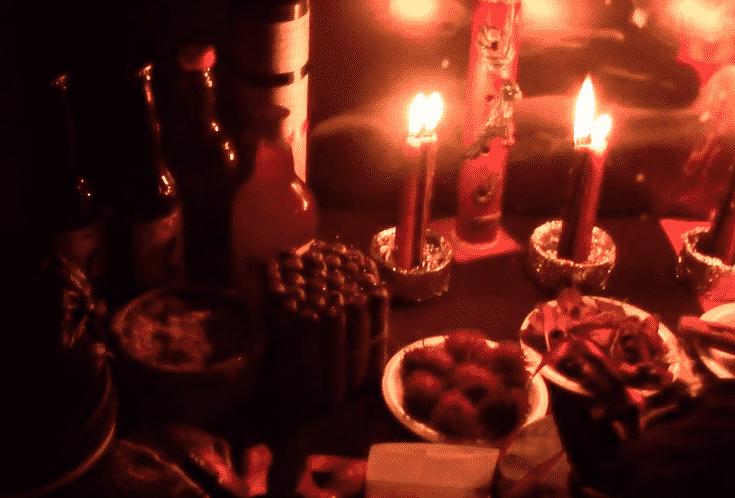 ritual de macumba