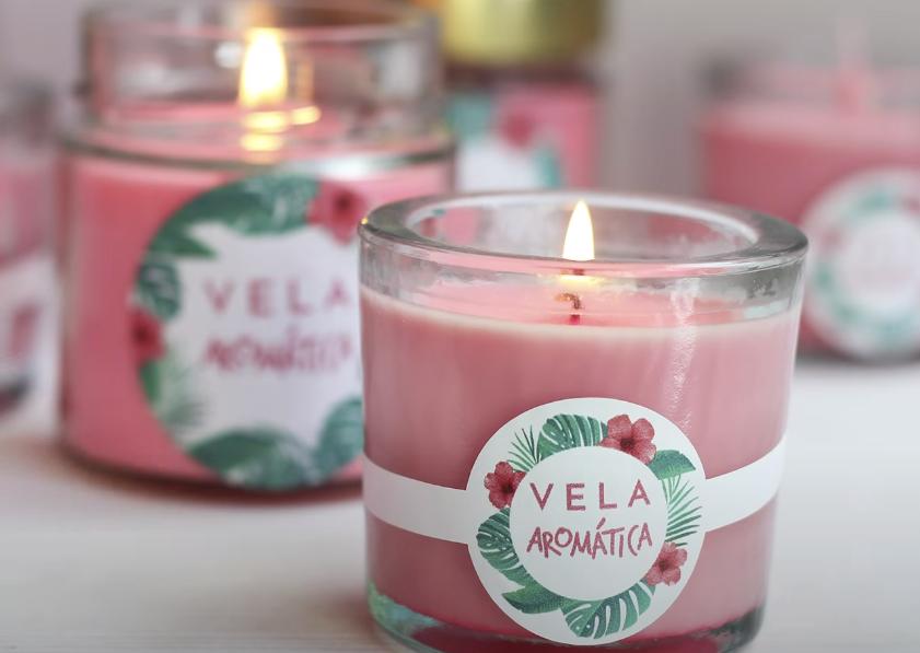 velas de aroma agradable